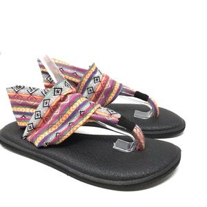 Sanuk | Women's Tribal Print Yoga Sling Sandals 6